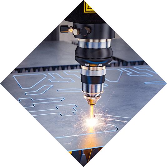 Metallbearbeitung, Laser Schneiden