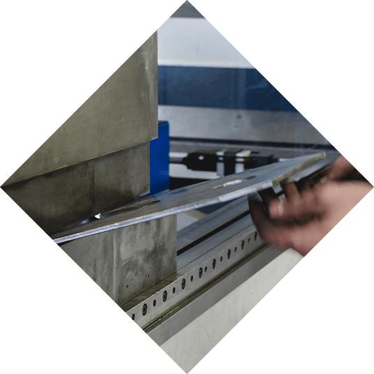 Metallbearbeitung, Abkanten