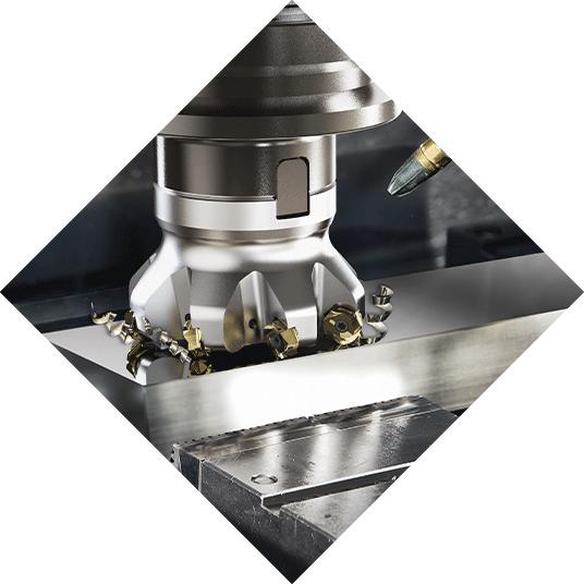 Metallbearbeitung, CNC Fräsen